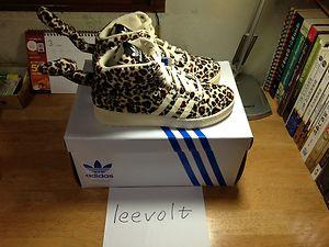 Adidas jeremy scott leopard sz us8 260mm