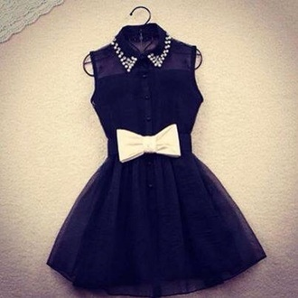 dress black studs black dress