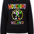 Moschino - multicoloured logo sweatshirt - women - Cotton/other fibers - 44, Black, Cotton/other fibers
