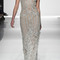 Diamond tulle fringe gown | moda operandi