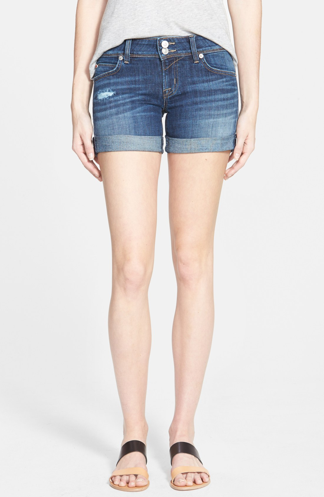 d834b070f67 Hudson Jeans 'Croxley' Cuffed Denim Shorts (Connection) | Nordstrom