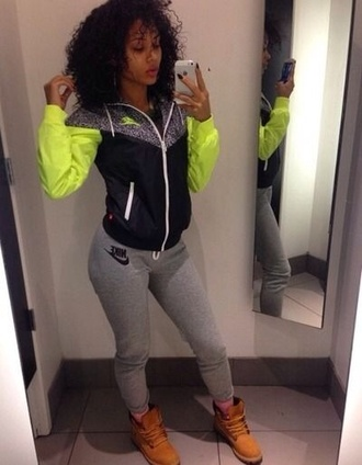 jacket neon pants windbreaker nike nike jacket phone cover nike air nike running shoes lime green dress green jacket nike sweater jumpsuit leggings coat green rain nike sportswear nike windbreaker grey bag swag hair summer fall outfits ahoes timberlands shoes clothes hair accessory puma nike shoes adidas