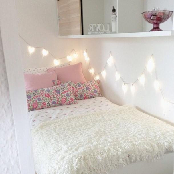 Dress: pillow, lights, home decor, decorative pillows, cute ...