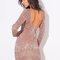Amber sequin mini dress