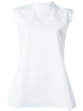 top sleeveless white