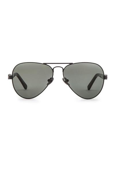 westward leaning sunglasses black