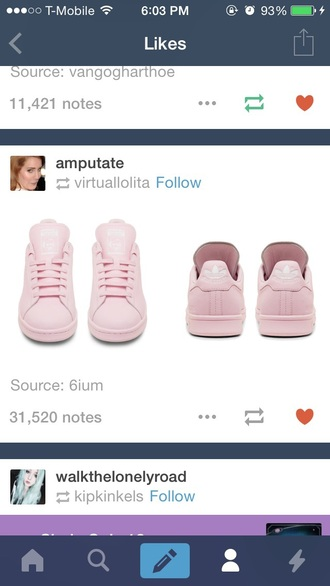 shoes adidas stan smith adidas pink pink shoes stan smith