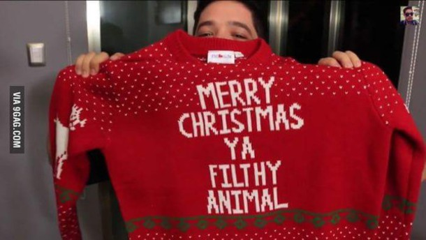 sweater christmas sweater bag