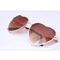 Heart sunglasses - 2 colors - fashion blogger trend summer celebrity | awesome world - online store