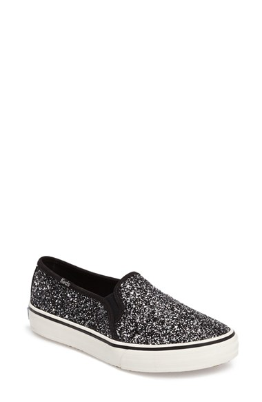 a2ed02571415 Keds® Double Decker Glitter Slip-On Sneaker (Women)
