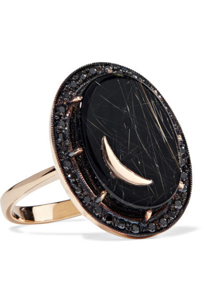 stone ring ring gold jewels