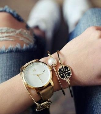 jewels bracelets stacked bracelets pearl bracelet