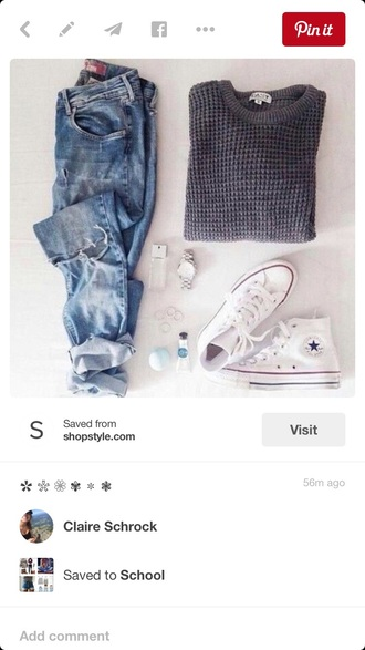 jeans boyfriend jeans blue jeans fall outfits fashion