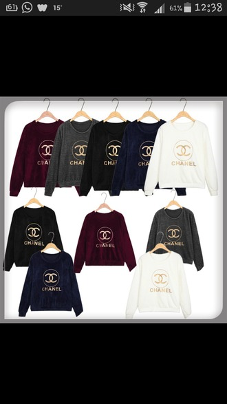 top chanel sweater