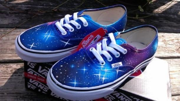 shoes vans galaxy print womens vans white vans galaxy vans wheretoget. Black Bedroom Furniture Sets. Home Design Ideas