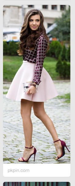 dress paris look fashion french shirt