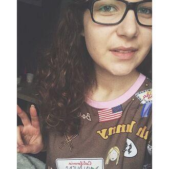 t-shirt yeah bunny american dream america usa new york city yellow taxi california florida american flag