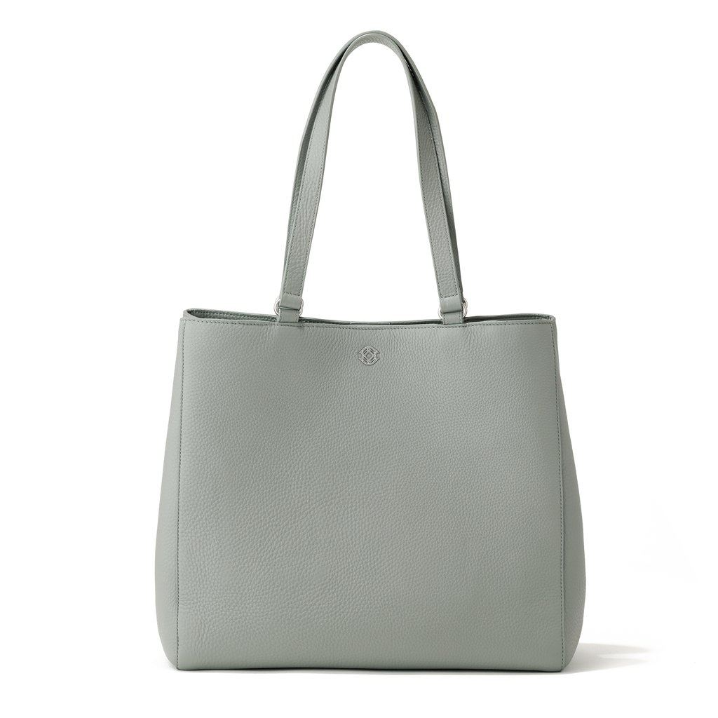 Allyn Tote in Sage, Large