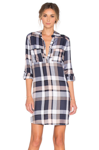 dress shirt dress navy