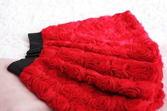 skirt roses red flowers girly tulle skirt lovely elegant electric green jacket