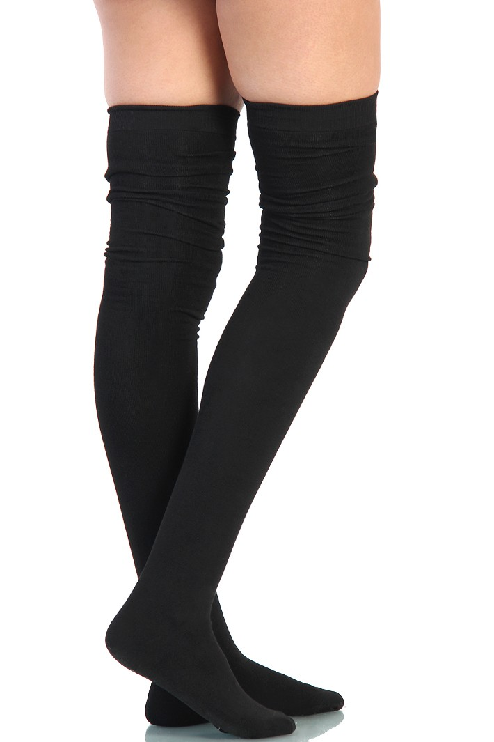 how to make thigh high socks stay up