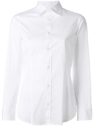 shirt button down shirt women spandex white cotton top