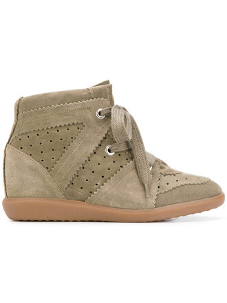 women sneakers leather nude wedge sneakers shoes