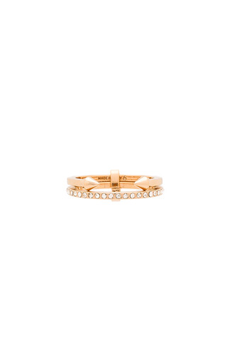 mini ring metallic copper jewels