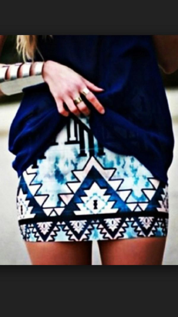blue skirt mini skirt clubwear sexy skirt jewels top hair accessory belt underwear blouse