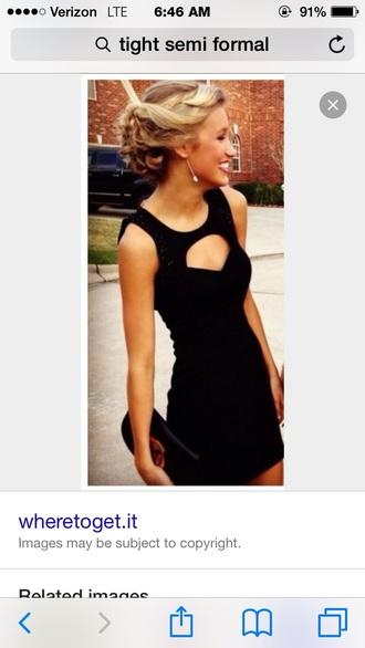 dress black dress homecoming dress homecoming semi formal