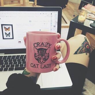 belt cats hipster grunge mug coffee coffee mug hipster wishlist