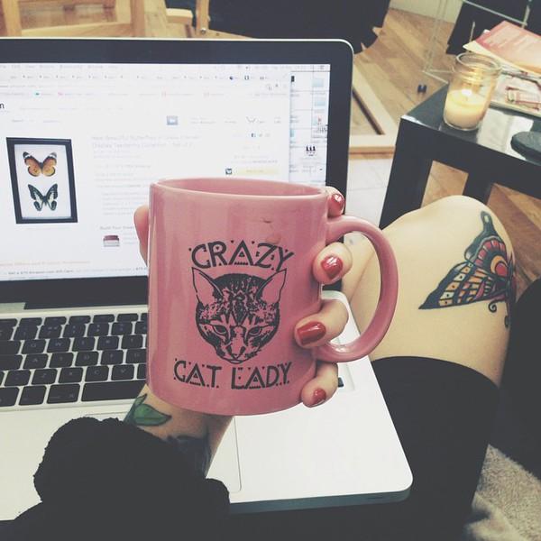 belt cats hipster grunge mug coffee coffee hipster wishlist