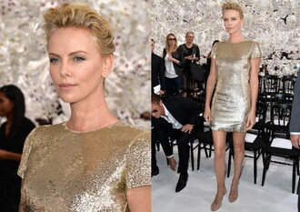 charlize theron dress earrings jewels