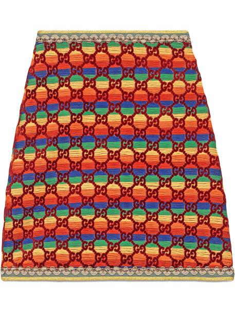 skirt velvet skirt rainbow women silk velvet