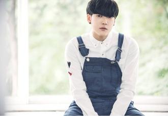 top collared shirt polo shirt long sleeves shirt heart fashion tumblr asian asian fashion collar shirt collar