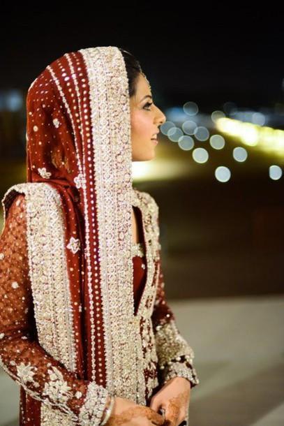 dress fashion pakistani wedding