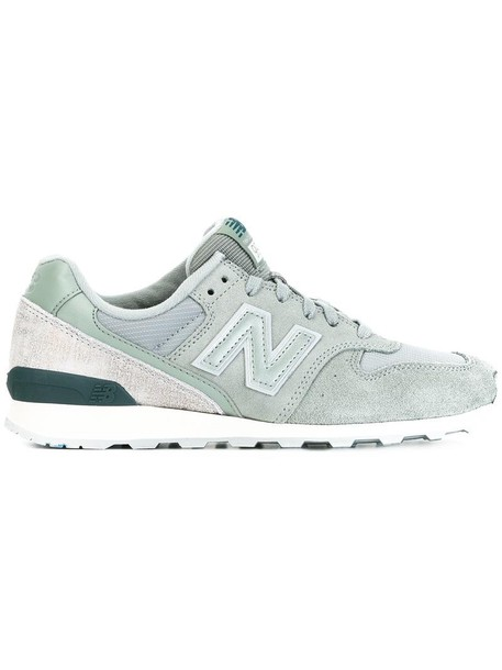New Balance women sneakers suede grey shoes