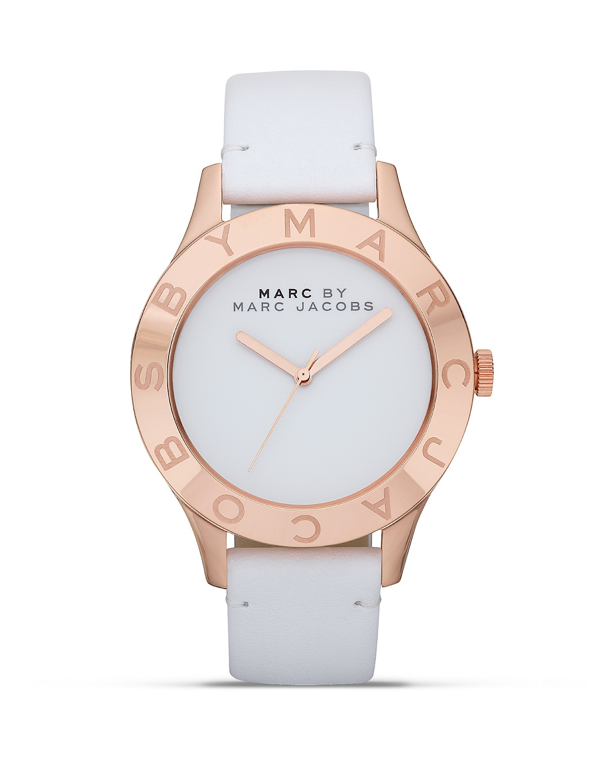 MARC BY MARC JACOBS New Blade Etched Logo Watch, 40mm | Bloomingdale's
