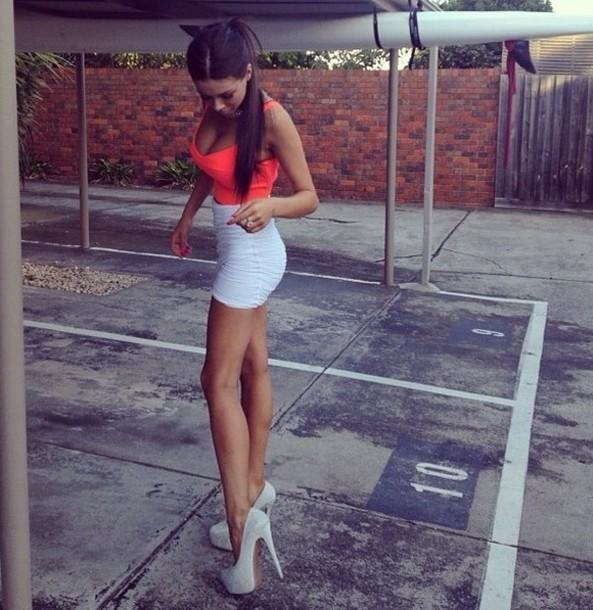 Skirt Shoes Dress