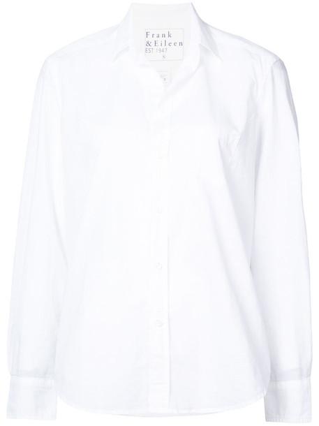 Frank & Eileen - Eileen classic fit shirt - women - Cotton - XS, White, Cotton