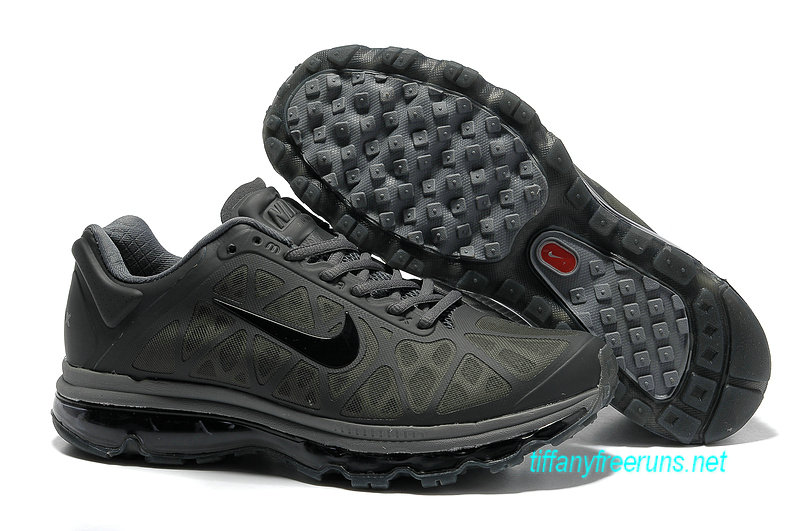 Mens Nike Air Max 2011 Anthracite/Cool Grey/Black Sneakers [Tiffany Free Runs 072]-$56.98|Tiffanyfreeruns.net