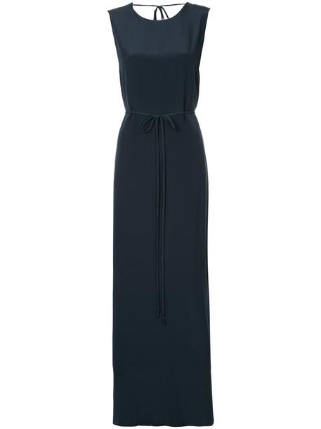 Kacey Devlin dress women black silk
