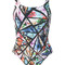 Lygia & nanny - printed swimsuit - women - polyamide - 38, polyamide