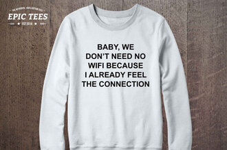 sweater white teenagers graphic sweater clothes trendy cute white sweater