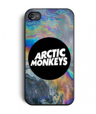 phone cover iphone case arctic monkeys monochrome fashion trendy it girl shop