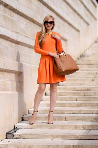 oh my vogue blogger bag jewels sunglasses dress