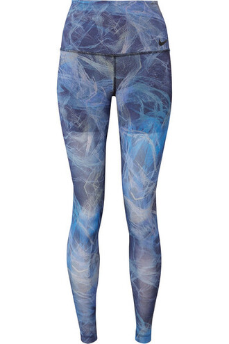 leggings fit blue pants
