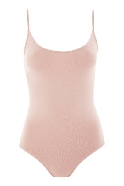 Topshop body strappy nude underwear
