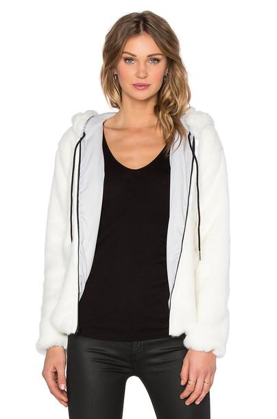 Benjamin Jay hoodie white
