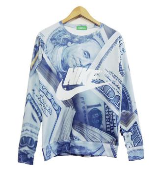 3d money sweater